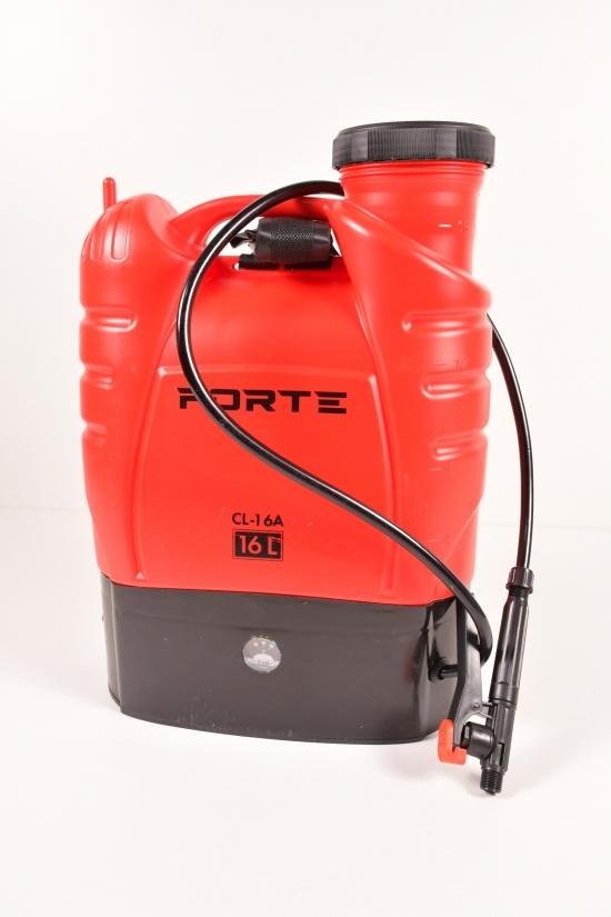 Опрыскиватель аккумуляторный Forte рабочее давление 2,4, объём 16л арт.CL-16A