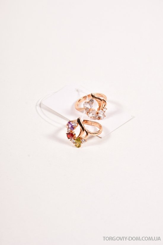Кольцо женское под золото арт.9520090