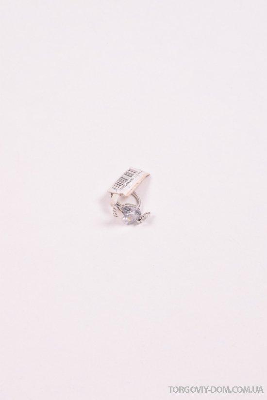 Кольцо женское с камнями Swarovski арт.60107440400