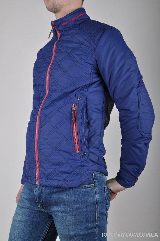 Куртка мужская из плащевки демисезонная Mans Modern Mall (цв.3) Размер в наличии : 50 арт.6578