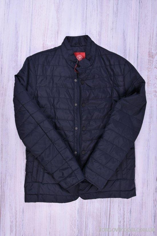 Куртка мужская из плащевки демисезонная Paolo Mark (цв.dark blue) Размер в наличии : 48 арт.PK1499-79A