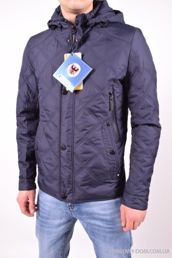 Куртка мужская из плащевки (цвет темно-синий) демисезонная BOOS JACK Размеры в наличии : 46,48 арт.JK-8861