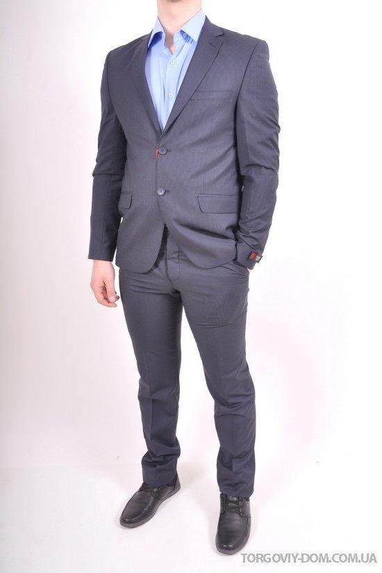 Костюм мужской классический (EY0302) цвет 04 рост 6 Palmiro Rossi (Cotton 25%,Polyamide 15%,Wool 60%) Размеры в наличии : 46,48,50,52,54 арт.8091