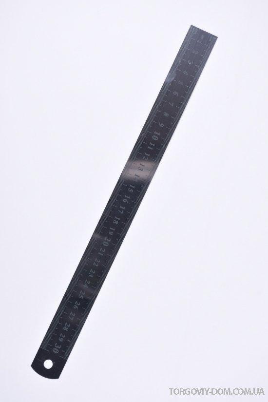Линейка металлическая (30см) арт.Stainless