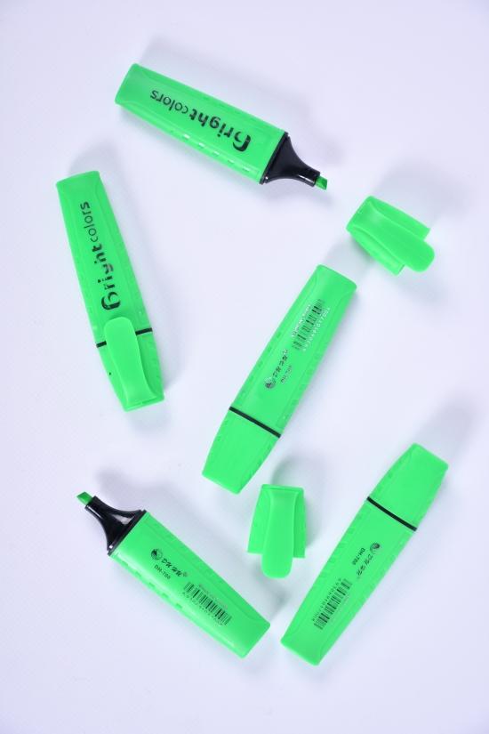 Текстовыделитель (цв.зеленый) ДИНИ арт.DH-700