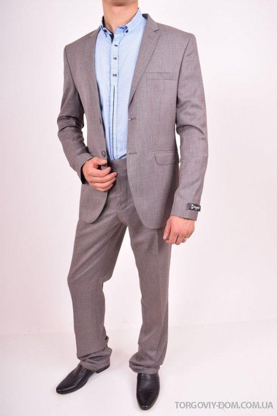 Костюм мужской классический (Astana) цвет 06 рост 6 Palmiro Rossi (Cotton 25%,Polyamide 15%,Wool 60%) Размеры в наличии : 44,46,50 арт.132