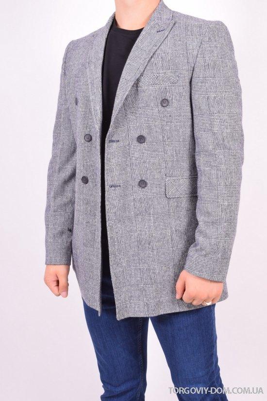 Пиджак классический мужской  (color 00) рост 6  Daniel Gallotti (Cashmere 80%,Wool 20%) Размеры в наличии : 50,54,56 арт.263