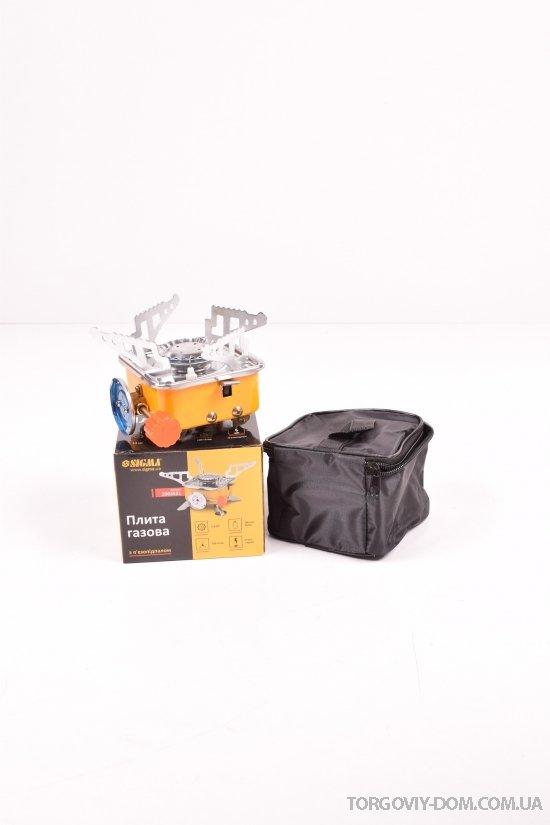 Плита с пьезоподжигом и защитой  (чехол) арт.2903531