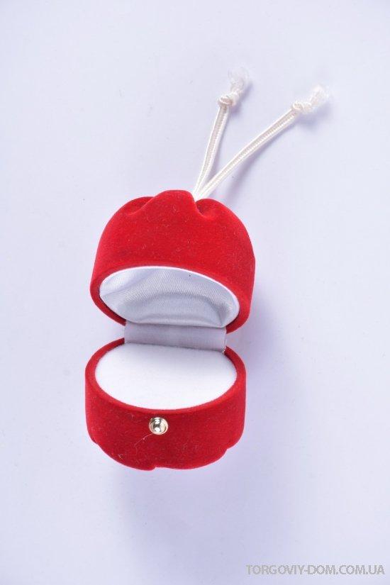 Коробочка для бижутерии бархатная размер 5/5/5 см. арт.110