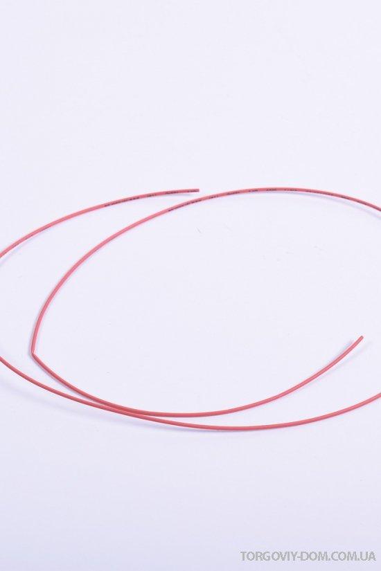 Трубка термоусадочная LXL 1m/1.0mm (цв.красный) арт.DRS-1