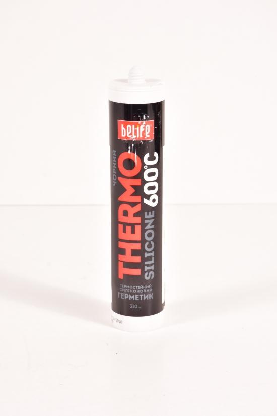 Герметик силиконовый термостойкий Belife 310 ml (цв.чёрный) арт.ST-313
