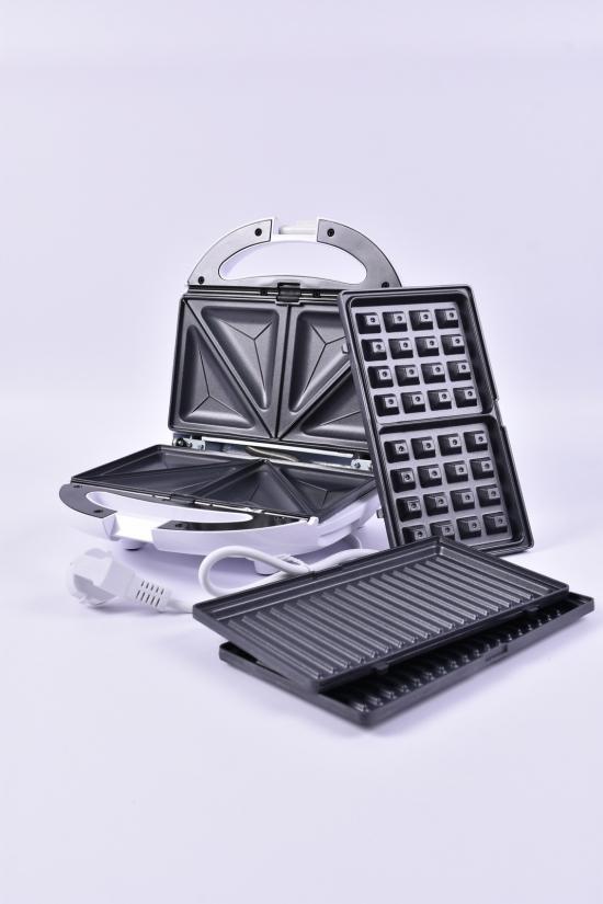 Сэндвичмейкер  800w  GRUNHELM арт.GSM800