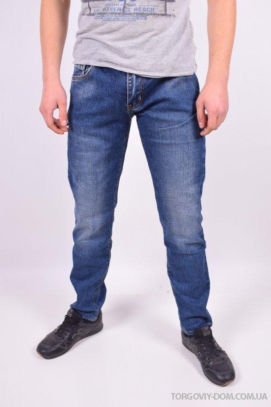 Джинсы мужские стрейчевые с поясом Fang Jeans Размеры в наличии : 30,32,33,35,36,38 арт.A-2049