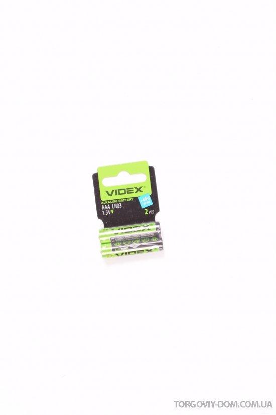 Батарейка Videx AAA арт.LR03