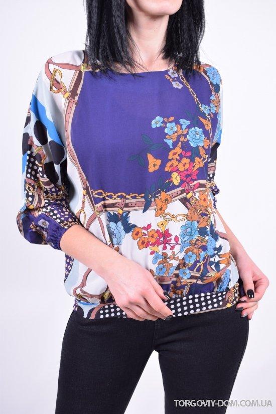 Блуза женская (цв.синий) PARKhande Размеры в наличии : 42,44,46,48 арт.1324