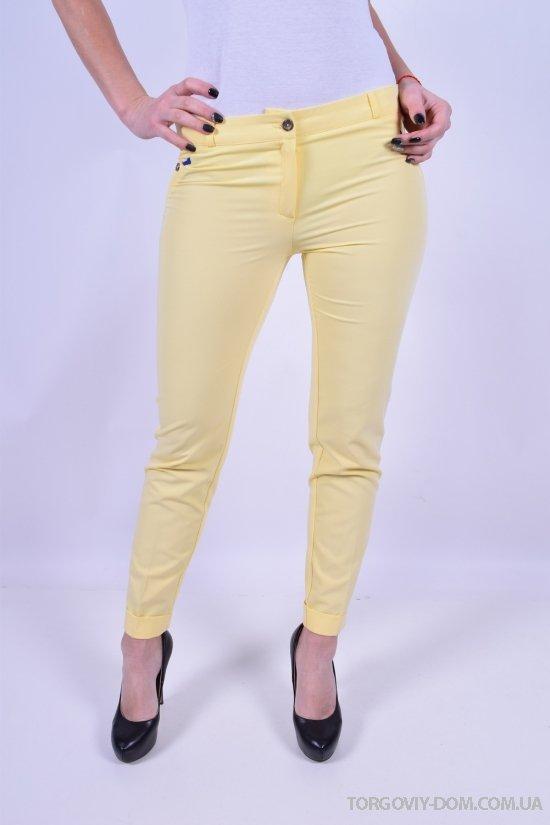 Брюки женские (цв.желтый) Размеры в наличии : 40,42,44,46,48,50 арт.6022
