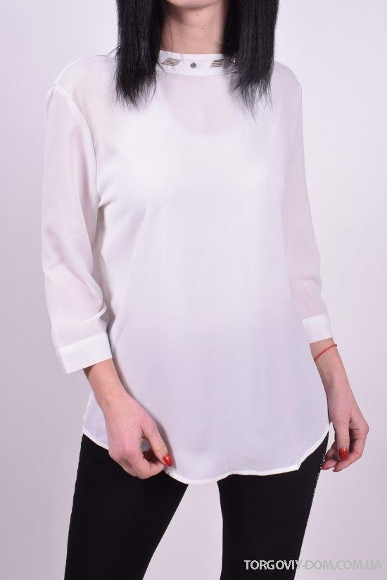 Блуза женская ( цв.белый) Qianzhidu Размеры в наличии : 36,38,40,42,44 арт.B81007