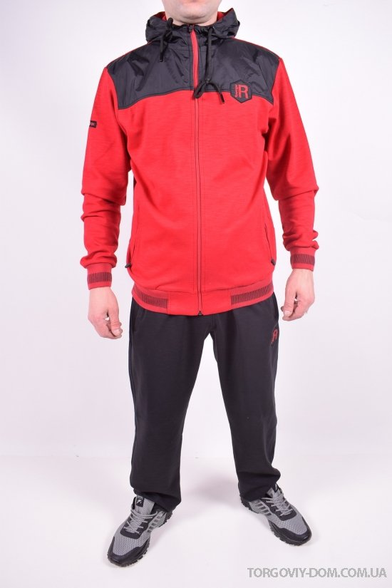 Костюм спортивный мужской комбинированный (цв.красный/чёрный) Rowinger Размеры в наличии : 44,46,48,50,52 арт.201987
