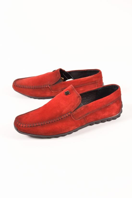 Мокасины мужские из натуральной замши DAN shoes Размеры в наличии : 41,42,43 арт.55S003-4/87