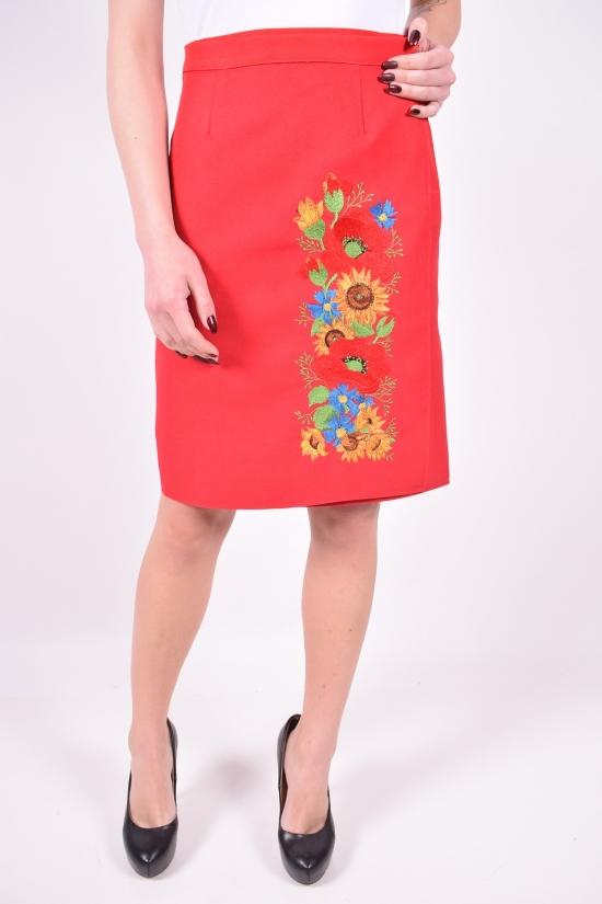 Юбка женская (цв.красный) Размеры в наличии : 44,46,48 арт.юбка