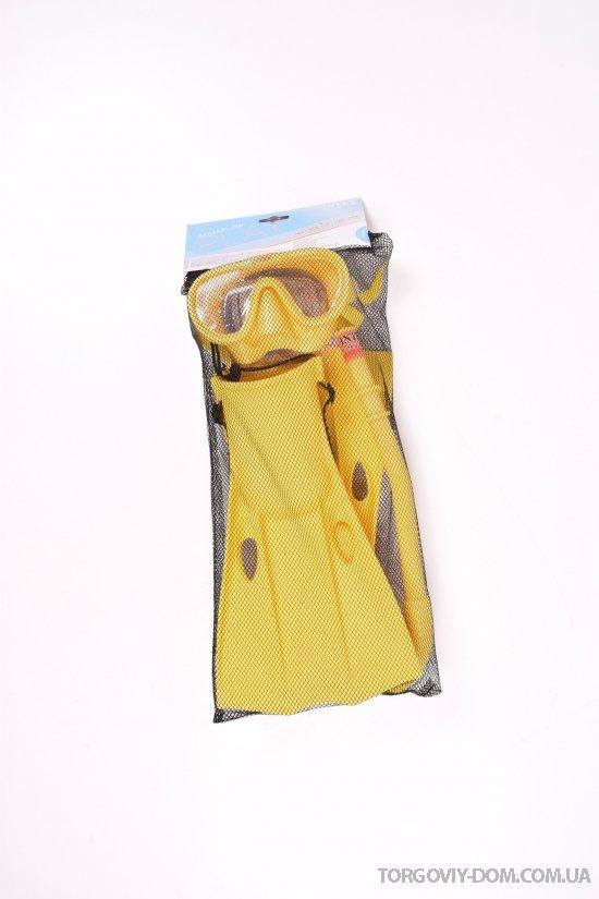 Набор для плавания (трубка маска и ласты) от 8 лет арт.55655