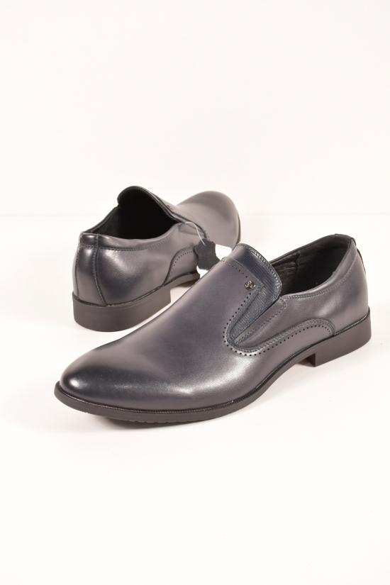 Туфли мужские из натуральной кожи  YALASOU Размеры в наличии : 45,46,47,48 арт.FBD5131-2