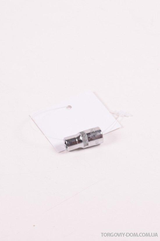 """Насадка шестигранная короткая 1/4"""" 6ммCrV ULTRA арт.6060062"""