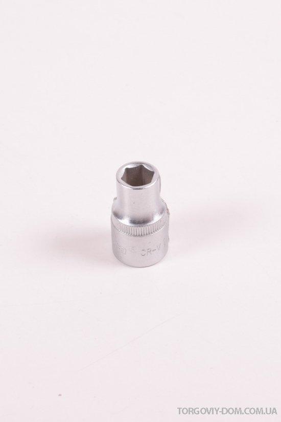 """Насадка шестигранная короткая 1/2"""" 11мм CrV ULTRA арт.6070112"""