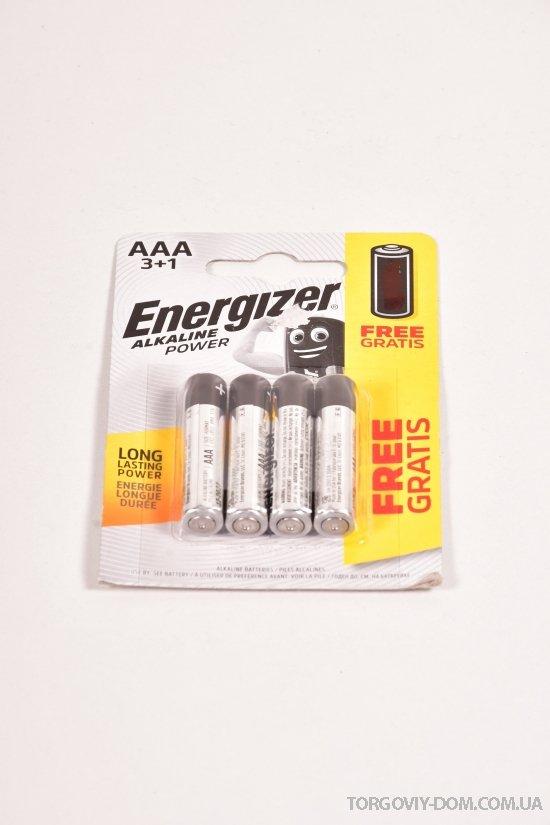 Батарейка  ENERGIZER AAA арт.LR03