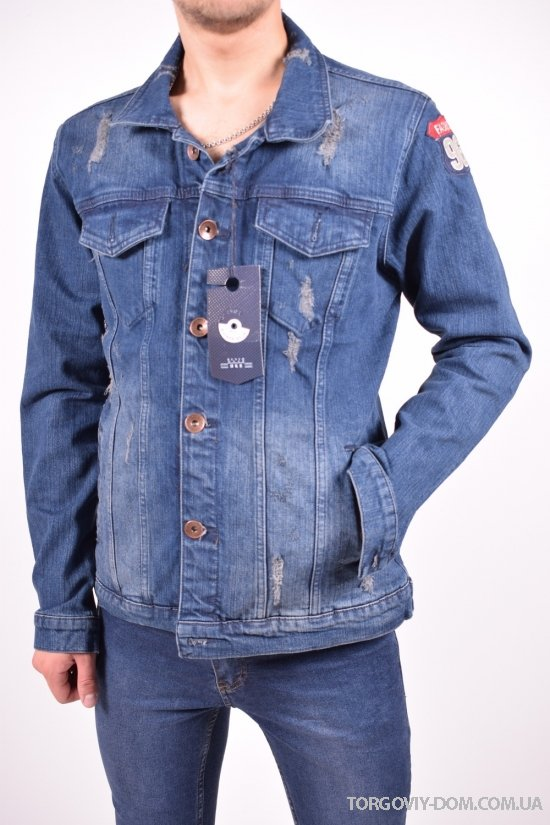 Пиджак джинсовый мужской Hacker Размеры в наличии : 42,44,46 арт.H594