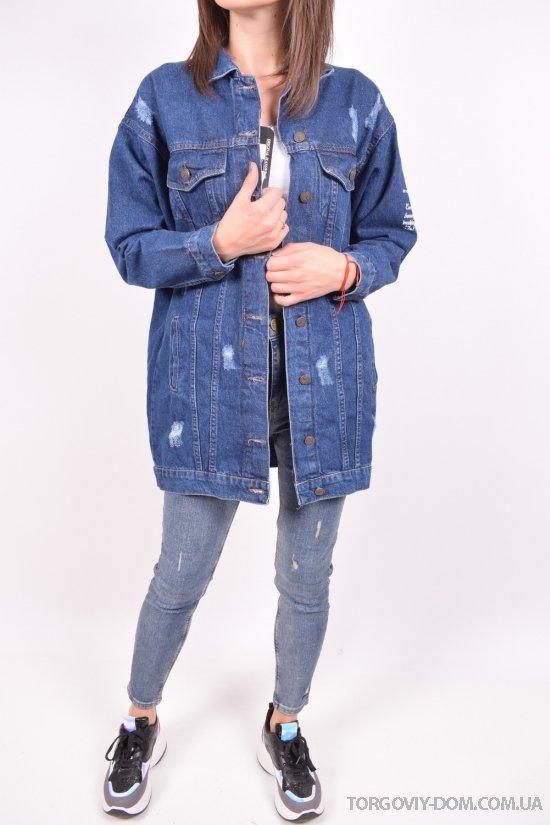 Пиджак джинсовый женский (color 2) Lady Forgina Размеры в наличии : 40,42,44,46 арт.3321