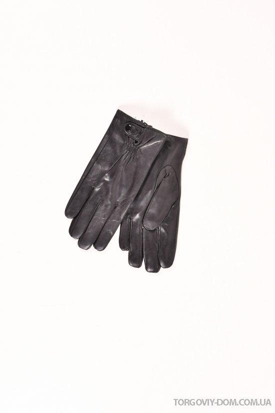 Перчатки для мальчика кожаные на меху Paidi арт.832-4