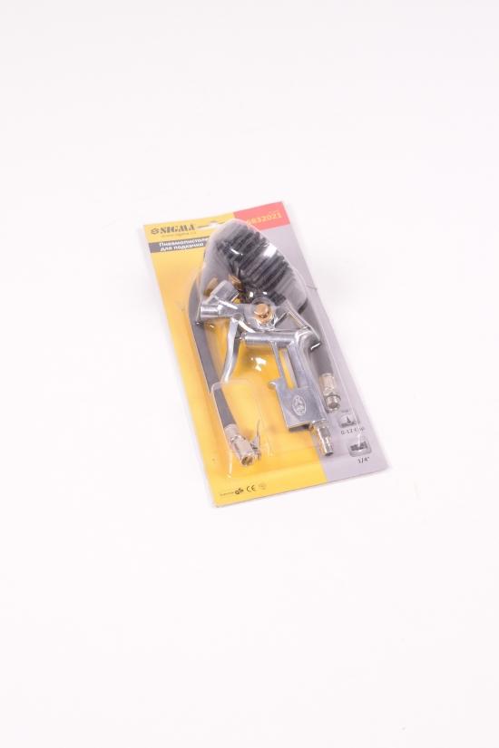 Пневмопистолет для подкачки колёс с манометром Sigma арт.6832021