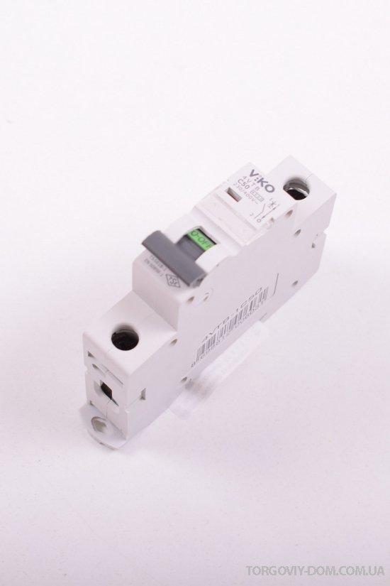 Автоматический выключатель (однополюсный) 50 A 4.5 KA 230/400V VIKO арт.4VTB-1C50